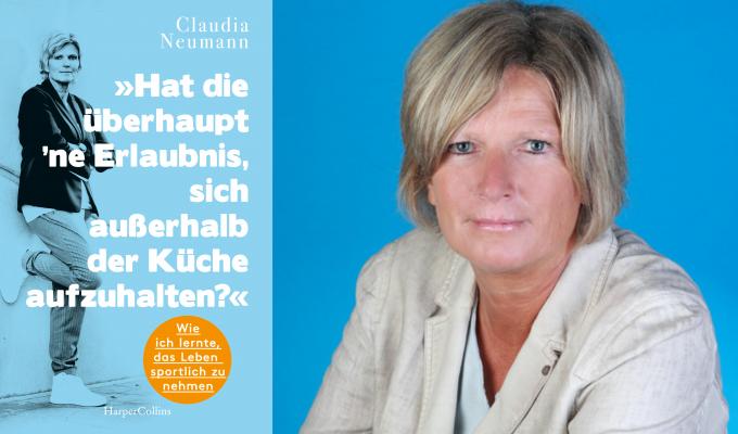 Sportmoderatorin Claudia Neumann veröffentlicht 2020 ihr erstes Buch. © Harper Collins