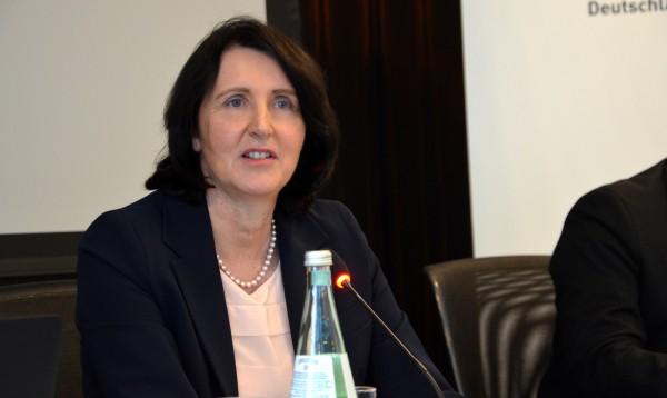 Dr. Andrea Gotzmann leitet seit neun Jahren die Nationale Anti-Doping-Agentur. © NADA