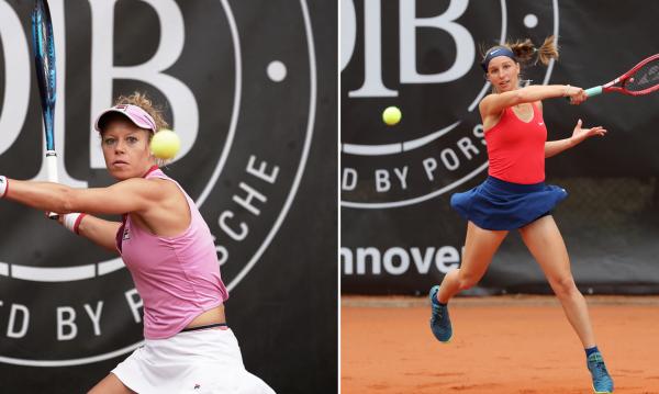 Laura Siegemund und Tamara Korpatsch stehen im Halbfinale. © Florian Petrow/Herbert Krämer
