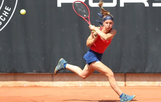 Tamara Korpatsch hat das Finale der Geman Ladies' Series gewonnen. © Tennispark Versmold