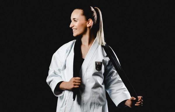 Sophie Wachter will es der Karate-Welt noch einmal zeigen. © Sarah Kastner Fotografie