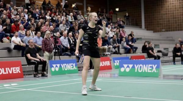 Leona Michalski hat sich den Traum der Badmintonkarriere erfüllt. © Sven Heise