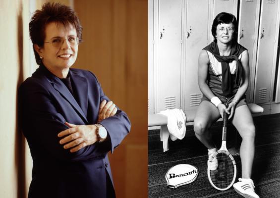 Billie Jean King (76) ist eine ehemalige US-amerikanische Tennisspielerin. © KingEnterprises/Lynn Gilbert  CC BY-SA 4.0