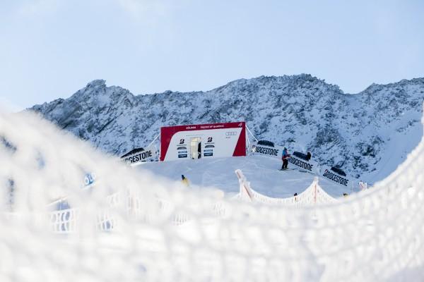 In Sölden starten die Alpinfahrer in die Weltcup-Saison – ohne Zuschauer. © Markus Geisler