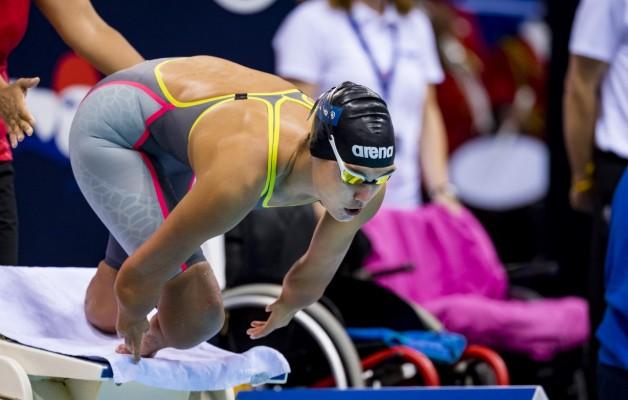 Para-Schwimmerin Gina Böttcher in Topform auf den Weg nach Tokio. © Ralf Kuckuck, DBS