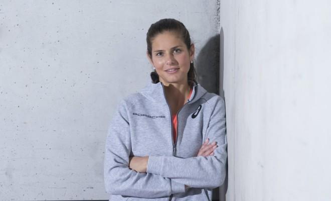 Julia Görges zieht sich vom Profi-Tennis zurück. © Porsche AG