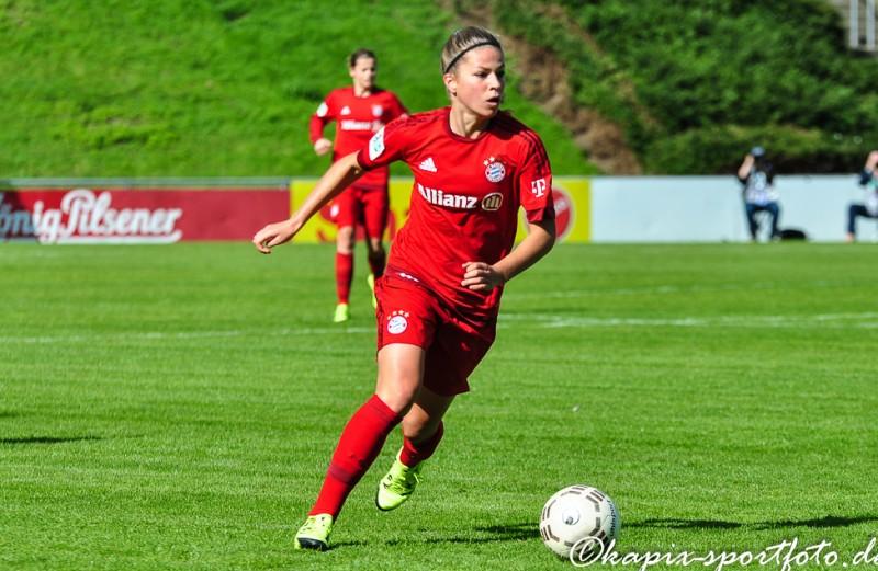 Melanie Leupolz ist zum FC Chelsea gewechselt. © Marion Kehren / Kapix Sportfoto