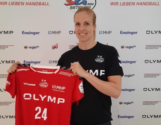 Die niederländische Weltmeisterin Danick Snelder wechselt zur SG BBM Bietigheim. © SG BBM Bietigheim