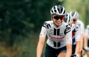 Liane Lippert holt den Gesamtsieg der U23 der UCI Women's World Tour 2020. © Team Sunweb | Patrick Brunt