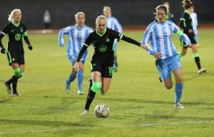 Karina Saevik im Champions League Spiel des VfL Wolfsburg. © VfL Wolfsburg