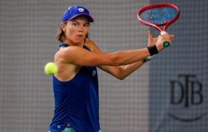 Katharina Gerlach verliert im Achtelfinale gegen Mara Guth. © Mathias Schulz