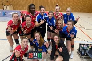Spielen in der kommenden Saison in der 1. Liga: die Frauen des VC Neuwied 77. © VC Neuwied