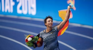 Nicht nur beim ISTAF Berlin 2019 hat Malaika Mihambo triumphiert. © Camera4/ISTAF