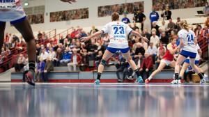 Die HSG Blomberg-Lippe empfängt die Neckarsulmer Sport-Union. © Matthias Wieking