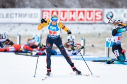 Vanessa Hinz beim Biathlon in Oberhof 2020. © Steffen Prößdorf, CC BY-SA 4.0, https://commons.wikimedia.org/w/index.php?curid=86183934