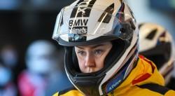 Laura Nolte beim Weltcup in Innsbruck. © Viesturs