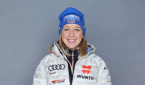 Franziska Preuß landet im Sprint in Oberhof auf Rang 6. © DSV