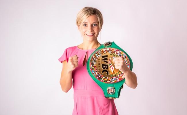 Den WBC-Titel will Tina Rupprecht in diesem Jahr verteidigen. © Ellironium Photography Ellen Roj