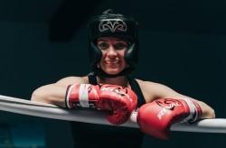 Tina Rupprecht wartet auf ihre nächste Gegnerin. © Manuel Buschendorf