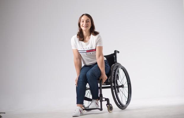 Kristina Vogel hat ihr neues Leben im Rollstuhl angenommen. © privat