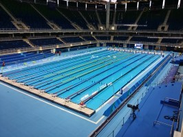 Im Olympiastadion in Rio holten die deutschen Schwimmerinnen keine Medaillen. © Marcos Vinicius Otaviano Maia, CC BY-SA 4.0