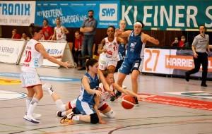 Im Halbfinale kämpften Heidelberg und Osnabrück um den Finaleinzug. © Andreas Gieser