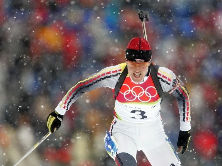 Biathlon-Legende Disl beendete 2006 ihre Karriere
