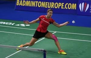 Fabienne Deprez war bei Team-Europameisterschaften – hier bei der EM 2020 – stets eine Punktegarantin. © Claudia Pauli
