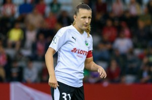 Tanja Pawollek fällt der Eintracht Frankfurt lange aus. © EL Loko Foto , CC BY 4.0, https://commons.wikimedia.org/w/index.php?curid=81615445
