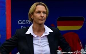 Martina Voss-Teckelnburg bei der Weltmeisterschaft 2019. © Marion Kehren/www.kapix-sportfoto.de