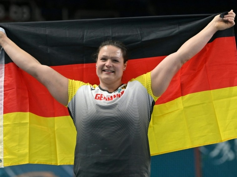 Christina Schwanitz ist für Verschiebung von Olympia