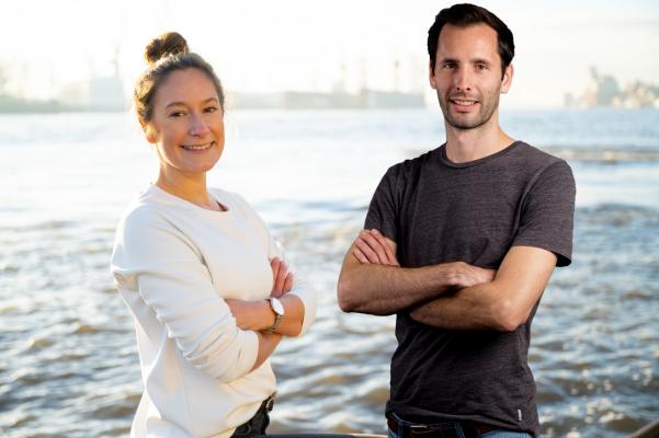 Johanna Mühlbeyer und Simon Mayr haben ein neues Mentorship-Programm auf die Beine gestellt. © privat