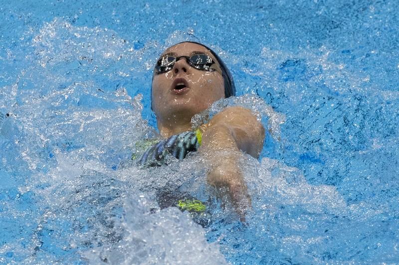Mira-Jeanne Maack schwimmt auf Platz 5 bei ihren Paralympics-Einstand.