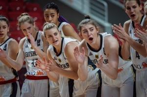 Deutschen Basketball Damen haben noch eine Chance auf das EM-Ticket. © fiba.basketball