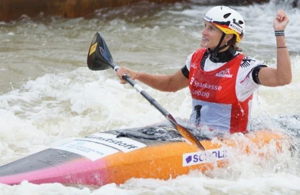 Olympia-Starterin Ricarda Funk freut sich auf die Kanu-EM in Italien. © Uta Büttner