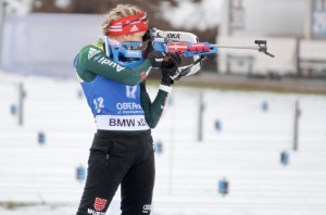 Franziska Preuß führt das Biathlon-WM-Team der Frauen an (Archivbild). © Christian Bier, CC BY-SA 3.0, https://commons.wikimedia.org/w/index.php?curid=65542489