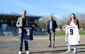 Eine Kooperation für die Zukunft des Frauenfußballs in Mönchengladbach.^ © FV Mönchengladbach 2020