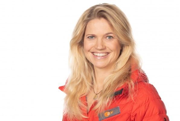 Anja Fröhlich kommentierte den Biathlon in Antholz und Nove Mesto. © obs/ZDF/Ulrike Lenz