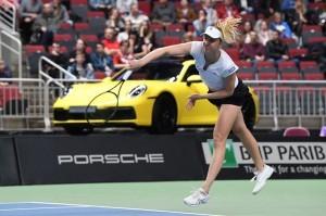 Mona Barthel setzt sich durch in Runde 1 der Australian Open. © Porsche AG
