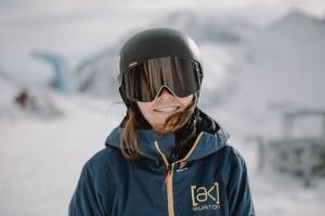 Nadja Flemming beendet ihre Snowboard-Karriere. © SNBGER/Johannes Jank