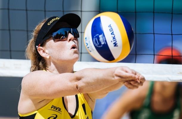 Julia Sude ist mit Karla Borger schon für Olympia qualifiziert. © FIVB