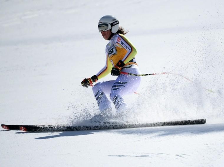 Skirennläuferin Kira Weidle mit Podiumsplatzierung
