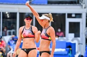 Julia Sude (l.) und Karla Borger gehen motiviert ins Saisonfinale. © www.tombloch.de