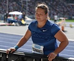 Christina Schwanitz soll eine EM-Medaille holen. © Martin Rulsch, CC BY-SA 4.0, https://commons.wikimedia.org/w/index.php?curid=82209811