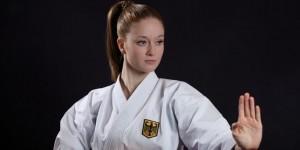 Lena Staiger will bei den Deutschen Meisterschaften den Titel holen. © Deutscher Karateverband