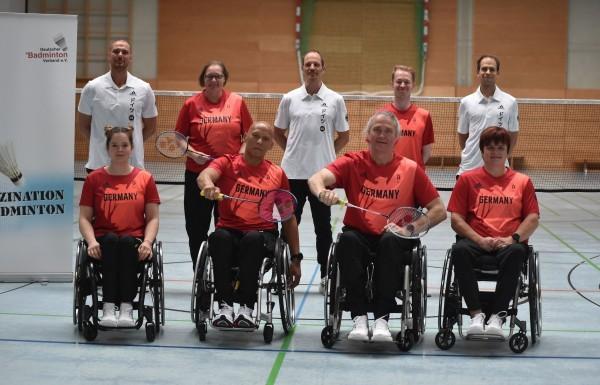 Insgesamt sechs Spieler:innen sind für die Paralympics qualifiziert. © Claudia Pauli
