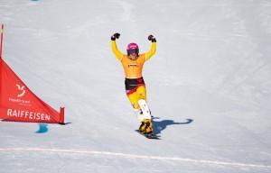 Darf Ramona Hofmeister beim Heimweltcup erneut jubeln? © Miha Matavz/FIS