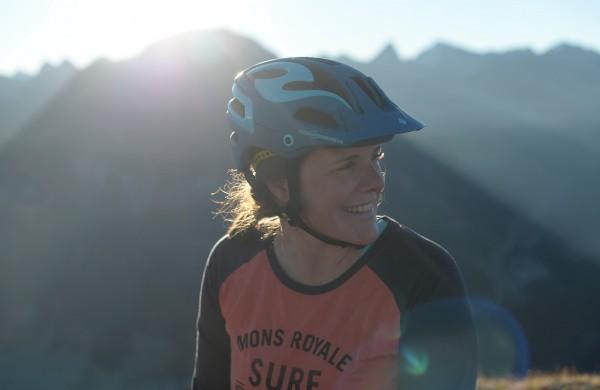 Regina Wohlgenannt kann sich ein Leben ohne Berge nicht vorstellen. © Andreas Vigl