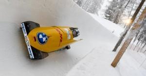 Laura Nolte, hier beim Training in St. Moritz, holt erneut Silber. © Viesturs