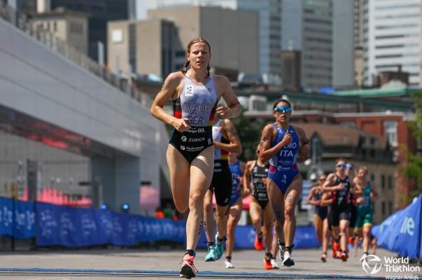 Laura Lindemann will in Hamburg aufs Podium. © World Triathlon